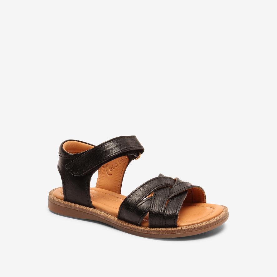 Bisgaard dívčí kožené sandály 70289 - 1000