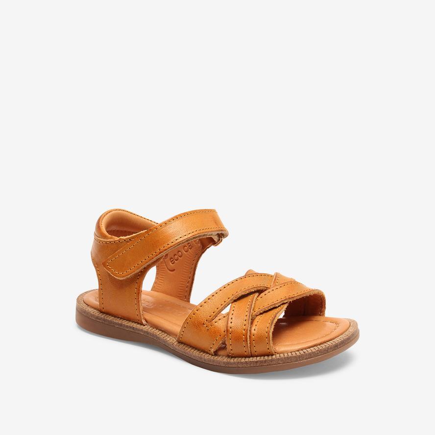 Bisgaard dívčí kožené sandály 70289 - 2112