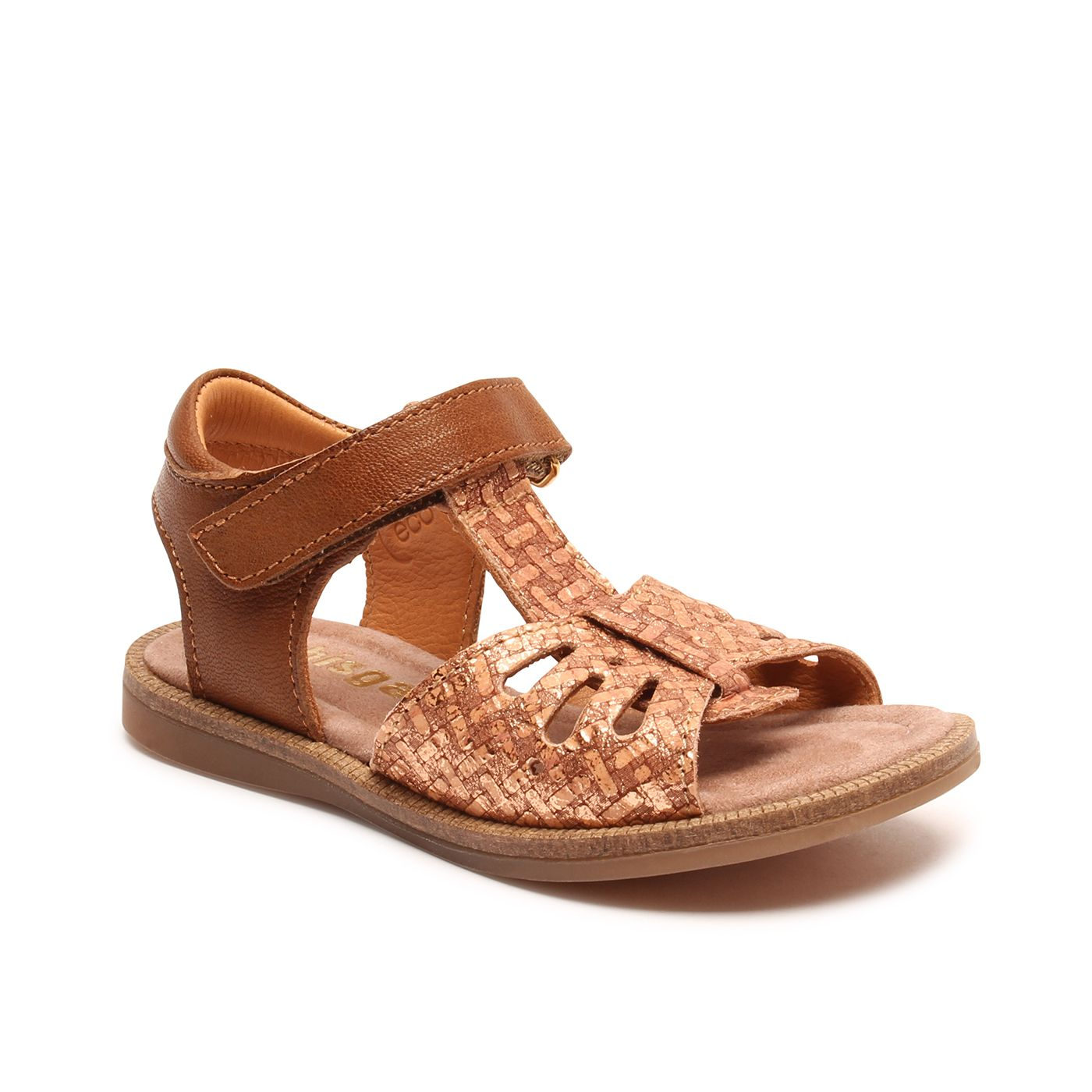 Bisgaard dívčí kožené sandály 70291 - 1529