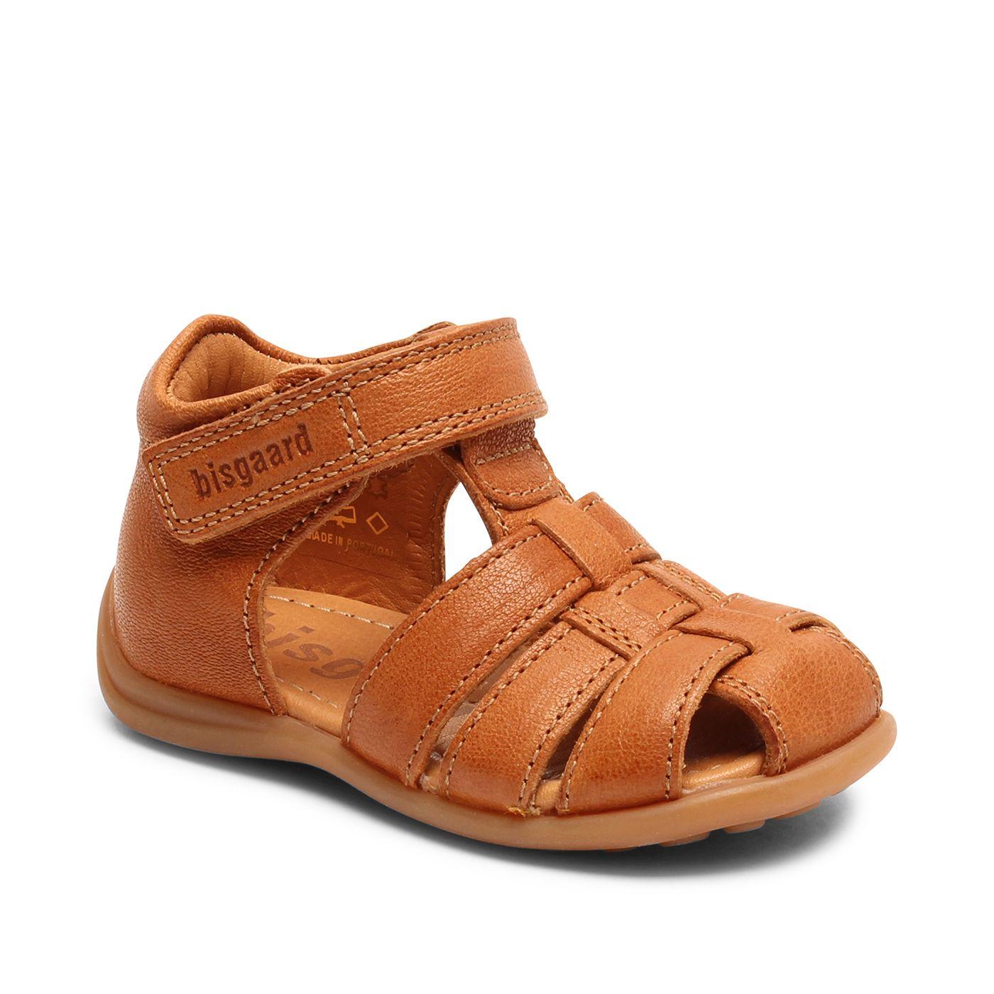 Bisgaard kožené sandály pro první krůčky 71206 - 1335