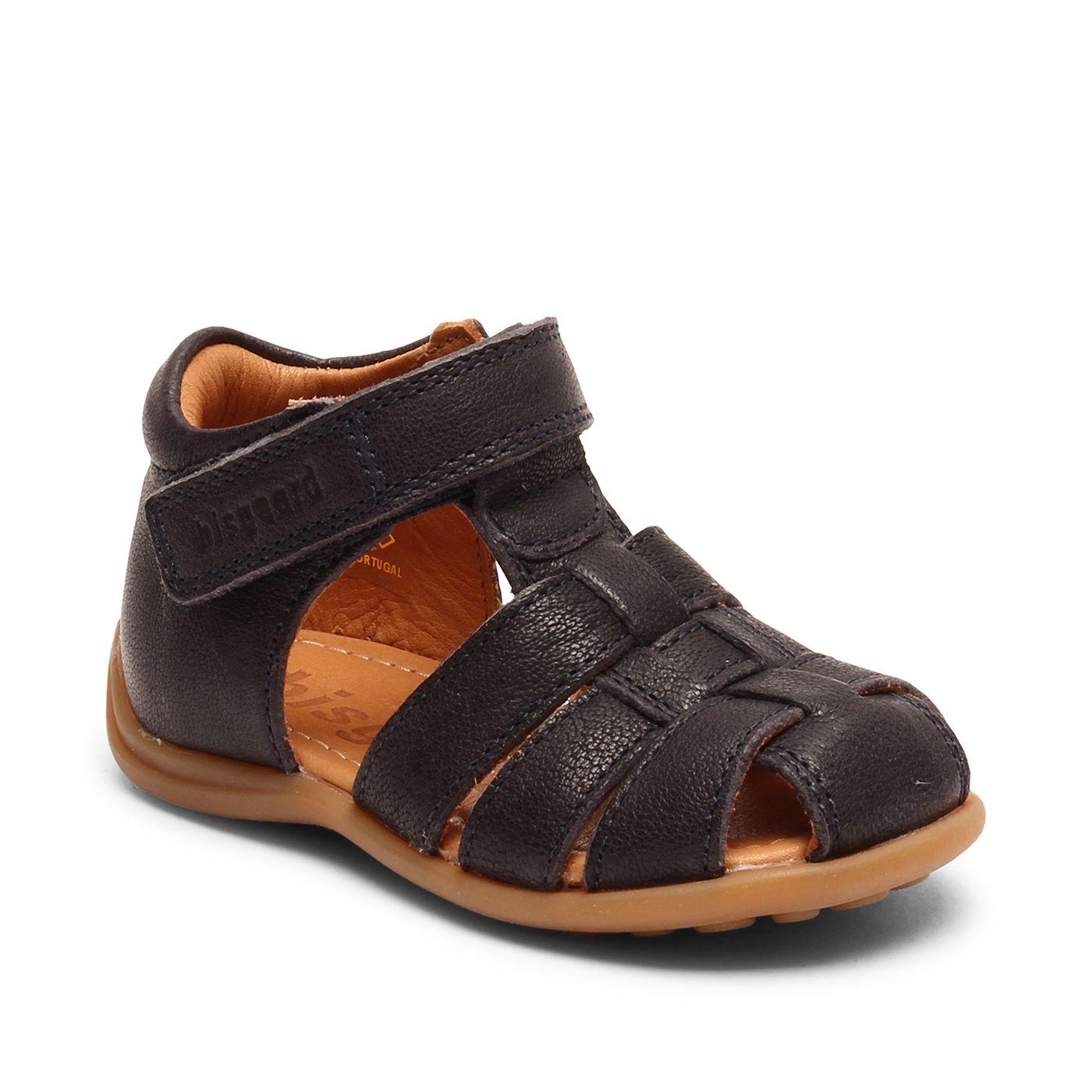 Bisgaard kožené sandály pro první krůčky 71206 - 1423