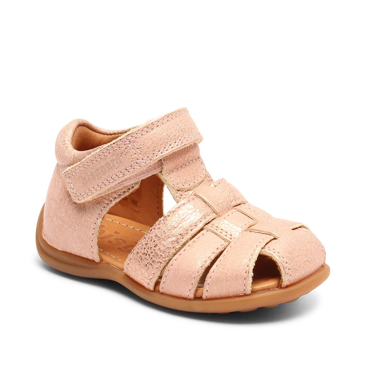 Bisgaard kožené sandály pro první krůčky 71206 - 1631