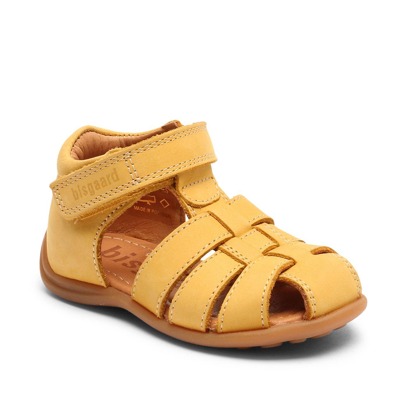 Bisgaard kožené sandály pro první krůčky 71206 - 2116