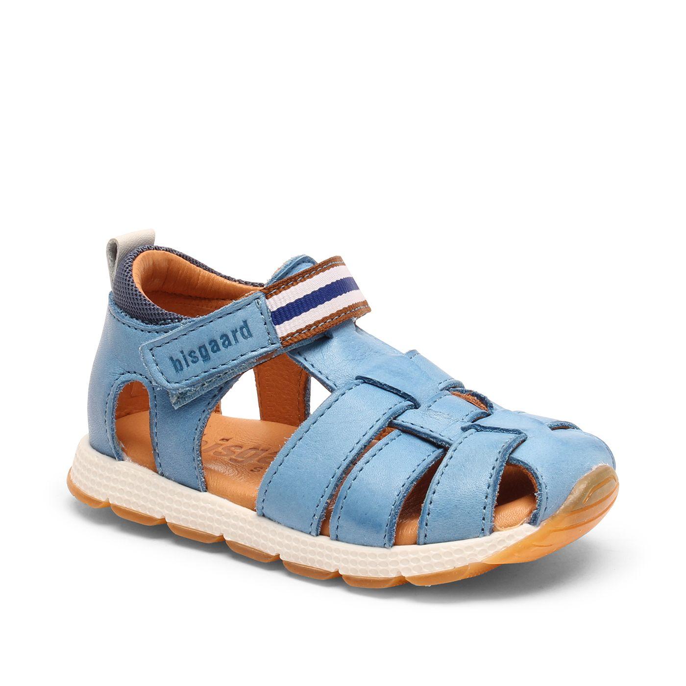 Bisgaard dětské kožené sandály 71241 - 1713