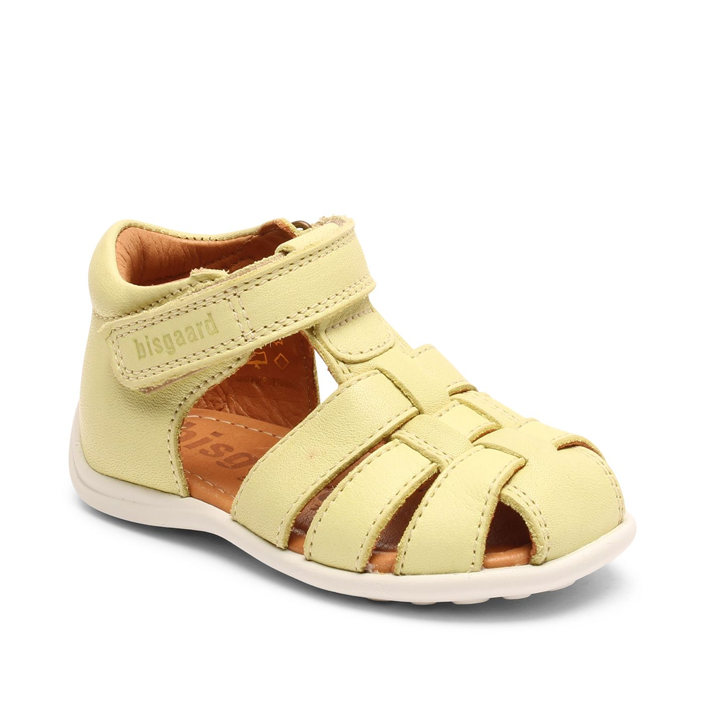Bisgaard kožené sandály pro první krůčky 71255 - 2114