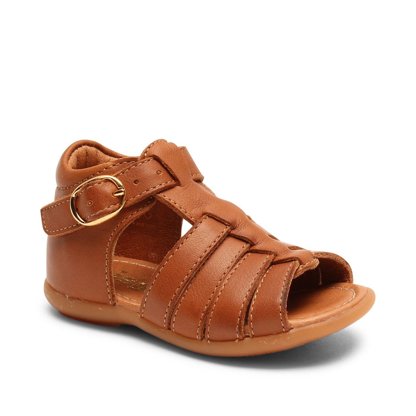 Bisgaard kožené sandály pro první krůčky 71261 - 1327