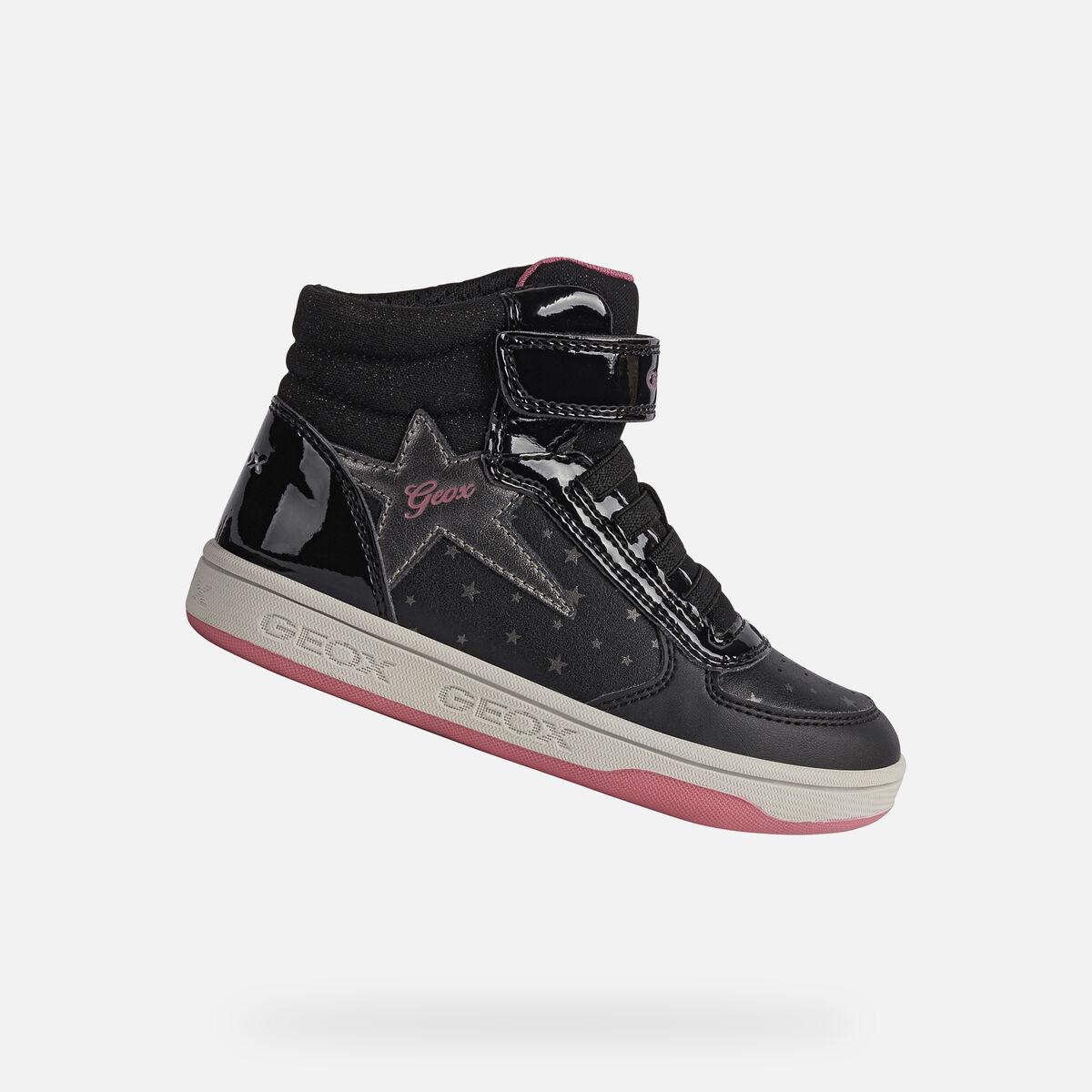 GEOX dětské kotníkové boty MALTIN černé - J1600A