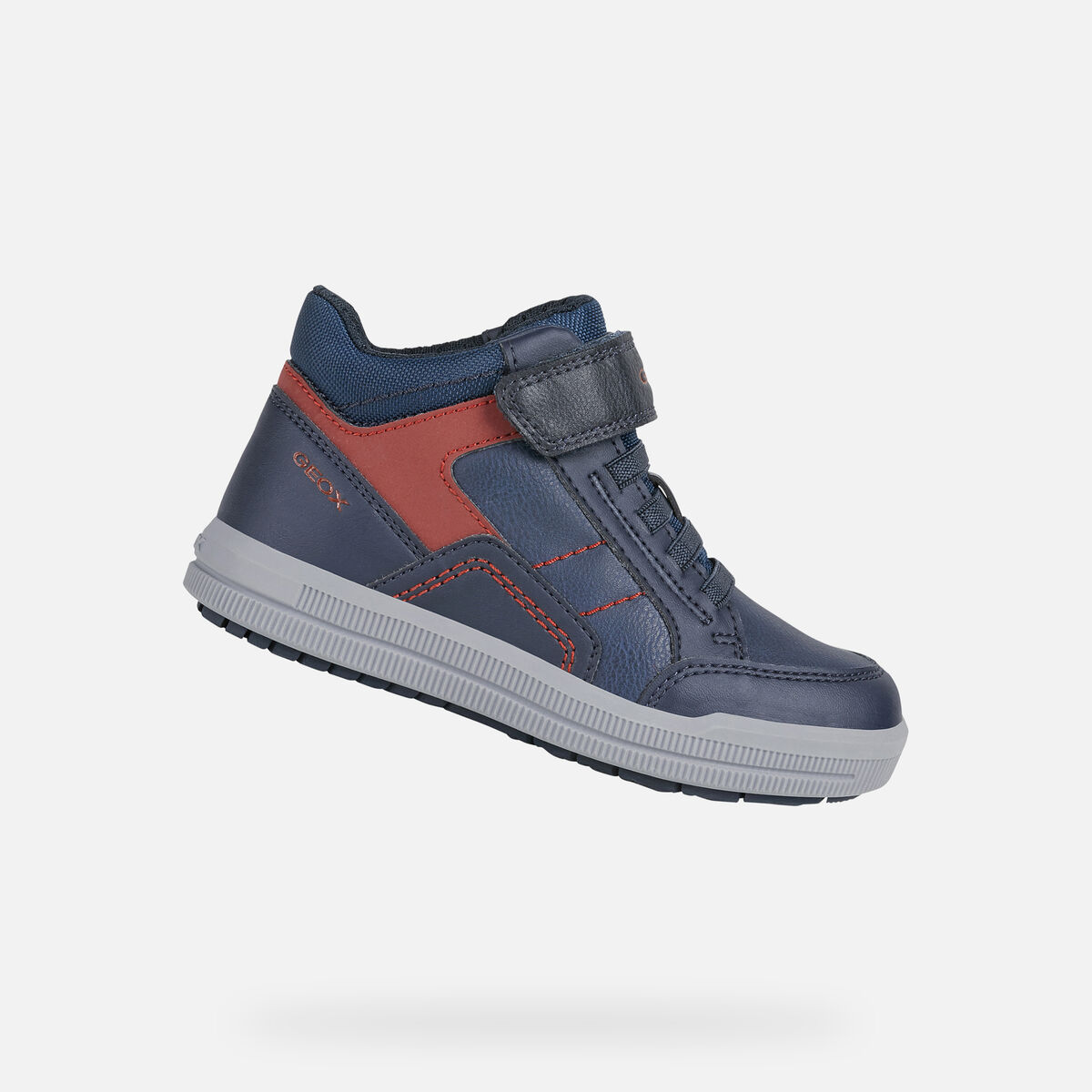 GEOX dětské kotníkové boty ARZACH BOY modré - J044AA