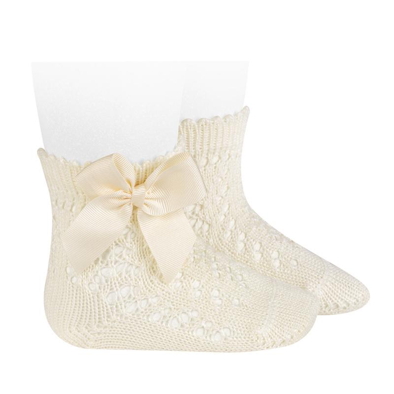 Condor dětské ponožky s mašlí 25194 - 303