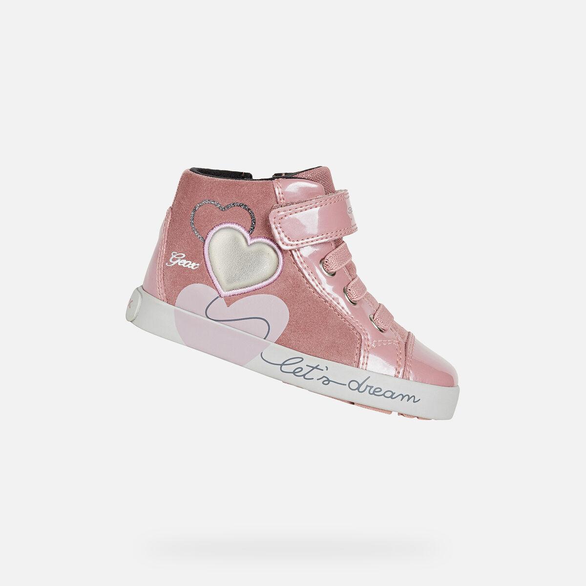 GEOX dětské boty pro první krůčky KILWI - B16D5B - 8025
