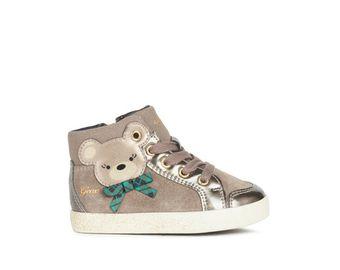 GEOX dětské boty KILWI - B16D5C - 9006