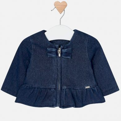 Mayoral kojenecký džínový kabátek
