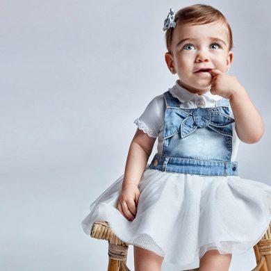Mayoral dívčí sukně s laclem 1955 - 005