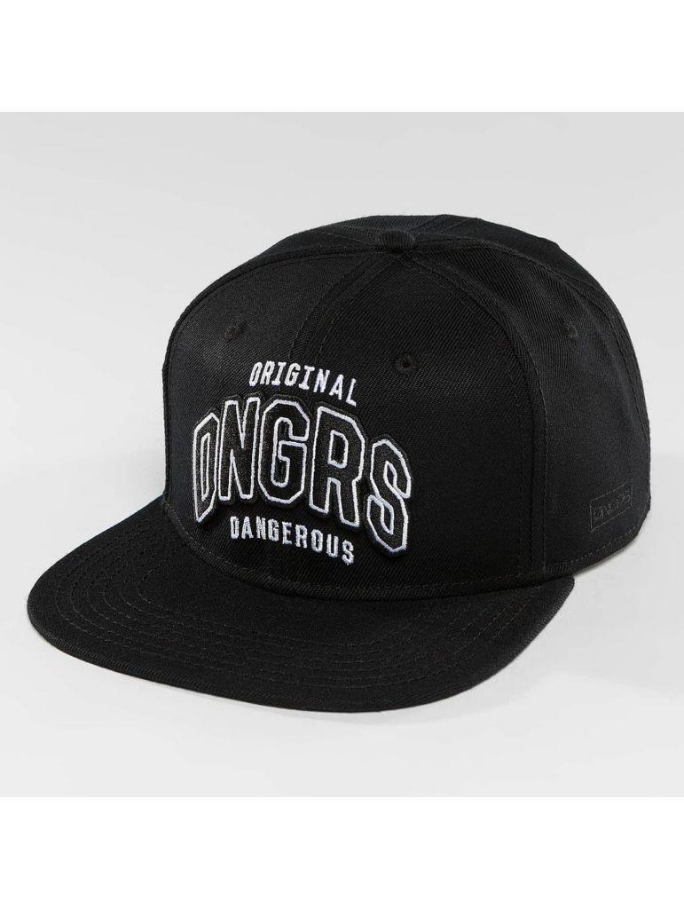 Kšiltovka DNGRS Snapback Original ID - černá