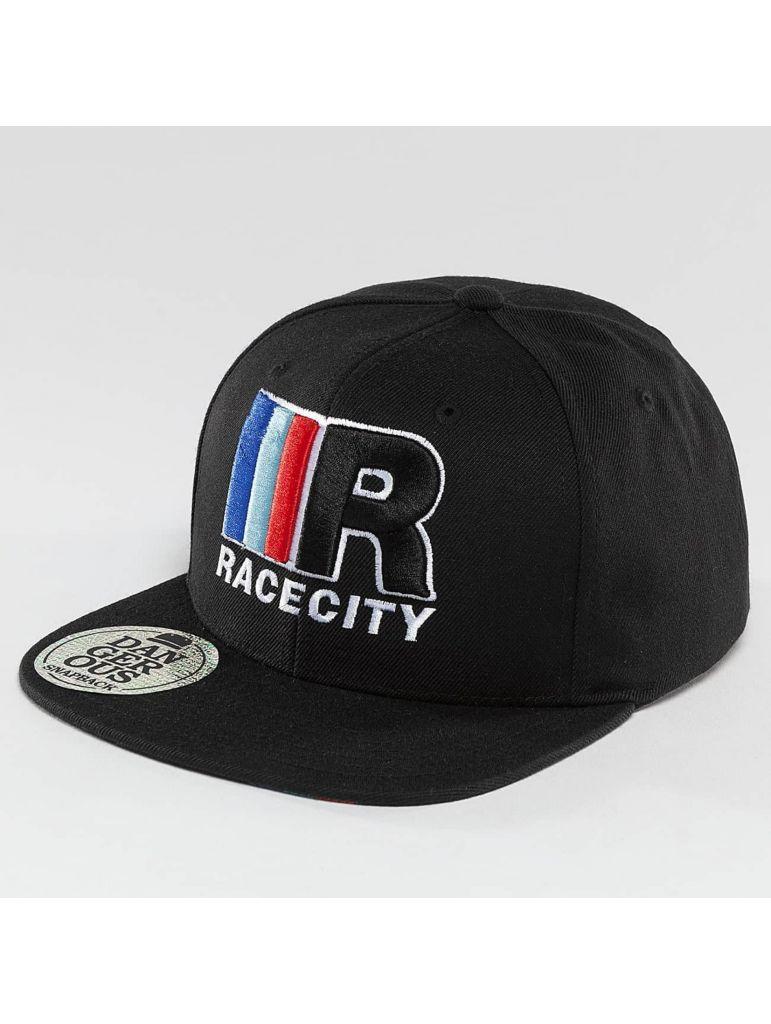 Kšiltovka DNGRS Snapback MRC Race City - černá