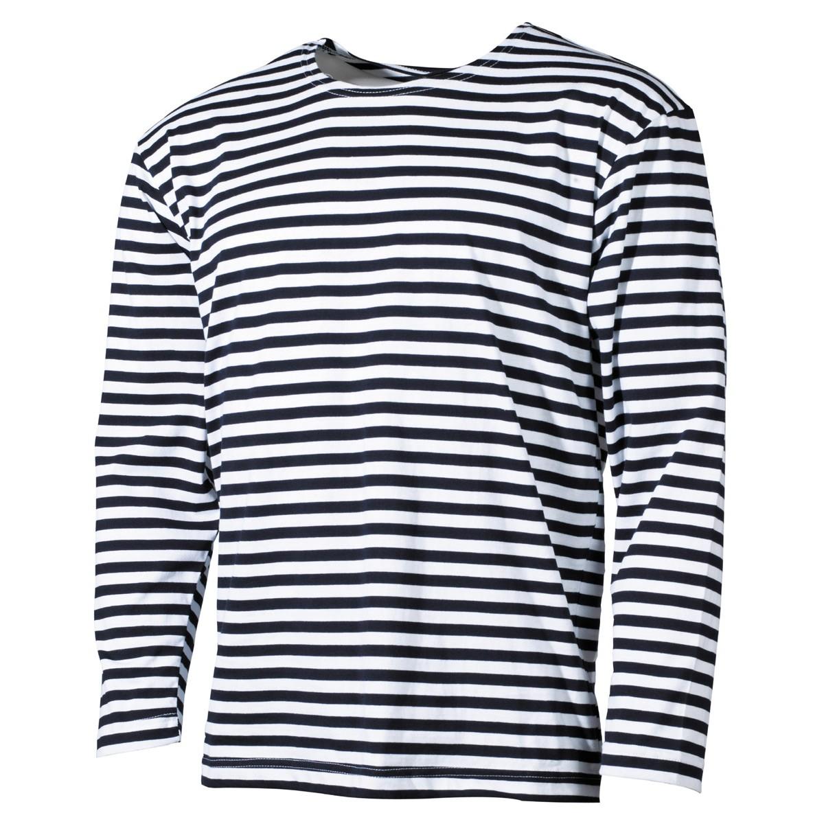 Ruské námořnické tričko s dlouhým rukávem MFH letní, XL