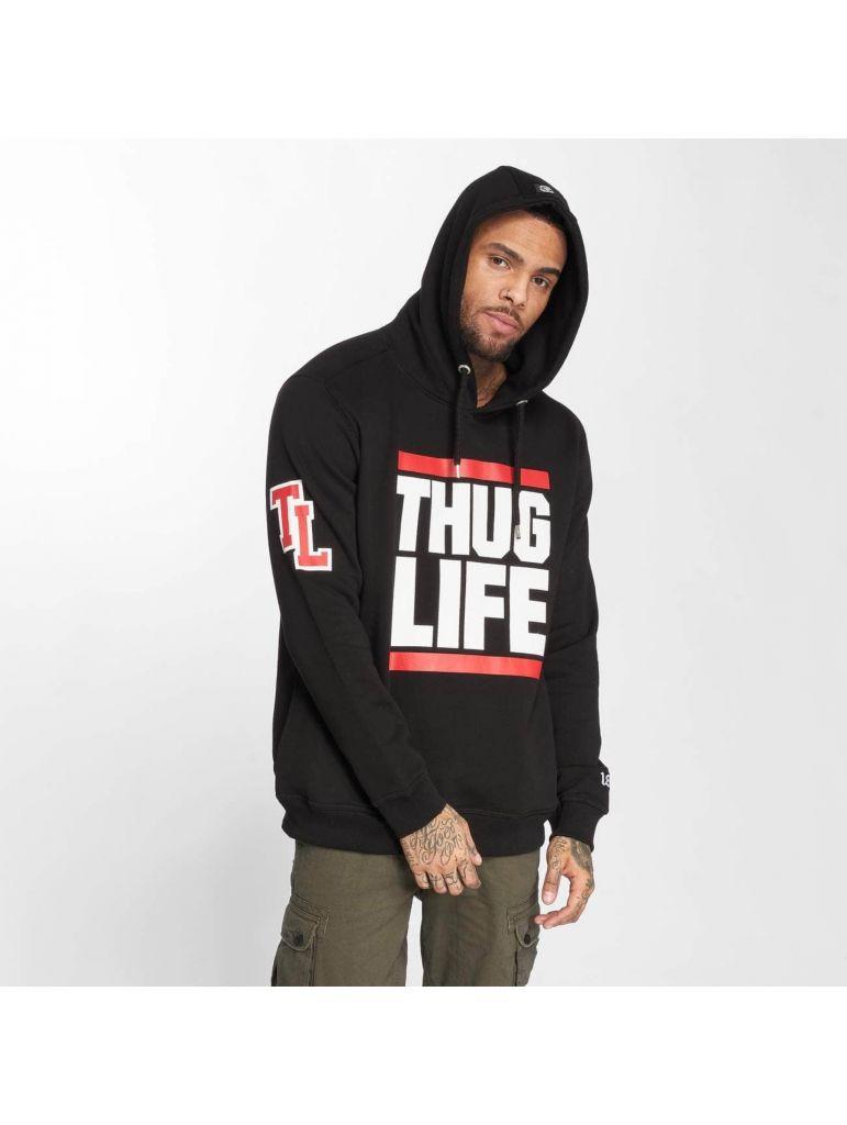 Mikina Thug Life Fight - černá, S