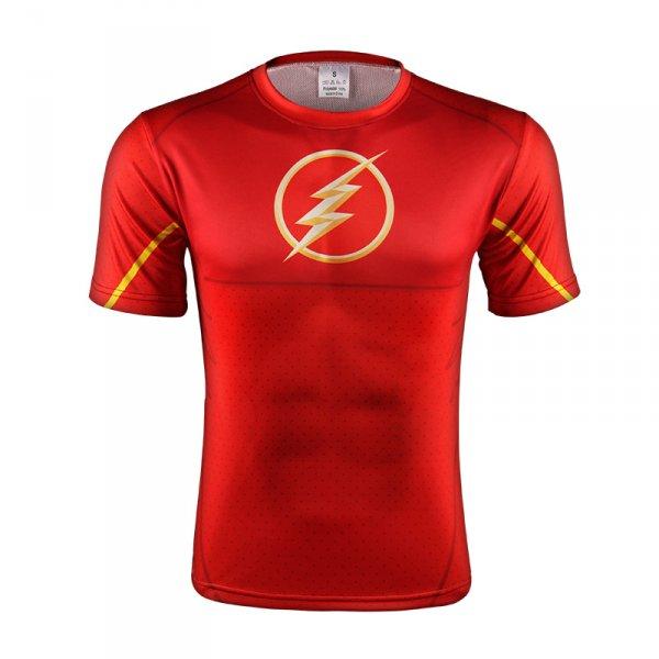 Sportovní tričko Flash - červené, M