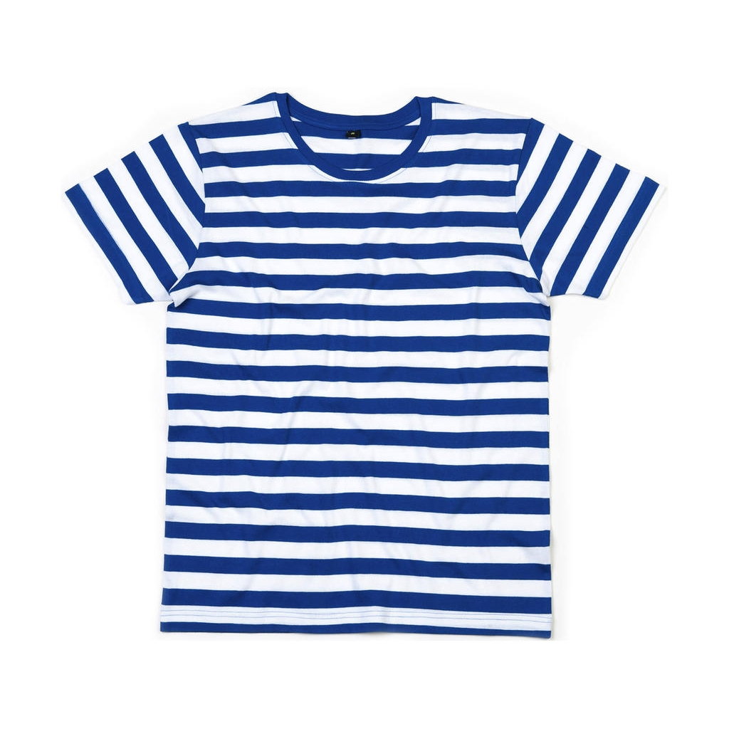 Pruhované námořnické triko Mantis Lines - modré-bílé, L
