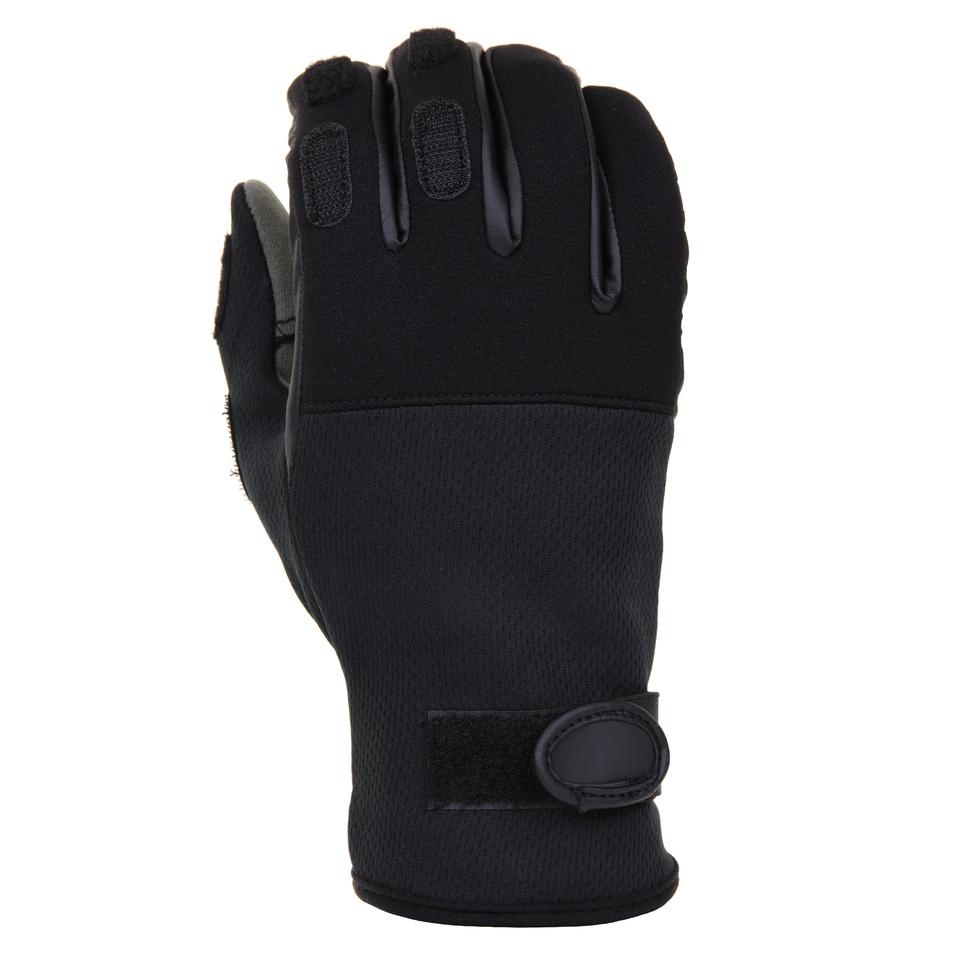 Rukavice 101 Inc Tactical Neoprene - černé, 3XL