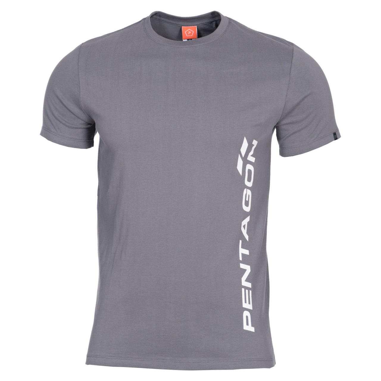Tričko Pentagon Vertical - šedé, XXL