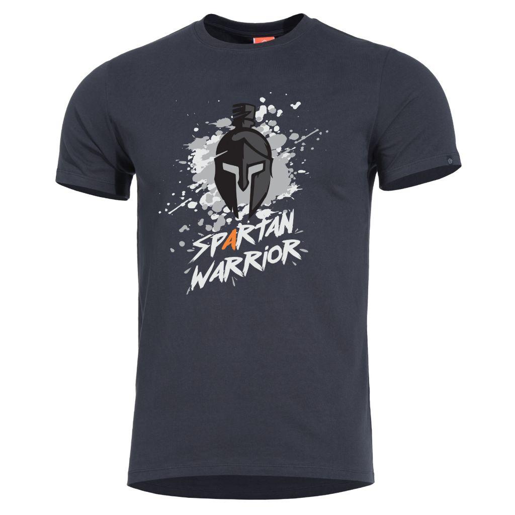 Tričko Pentagon Spartan Warrior - černé, XL