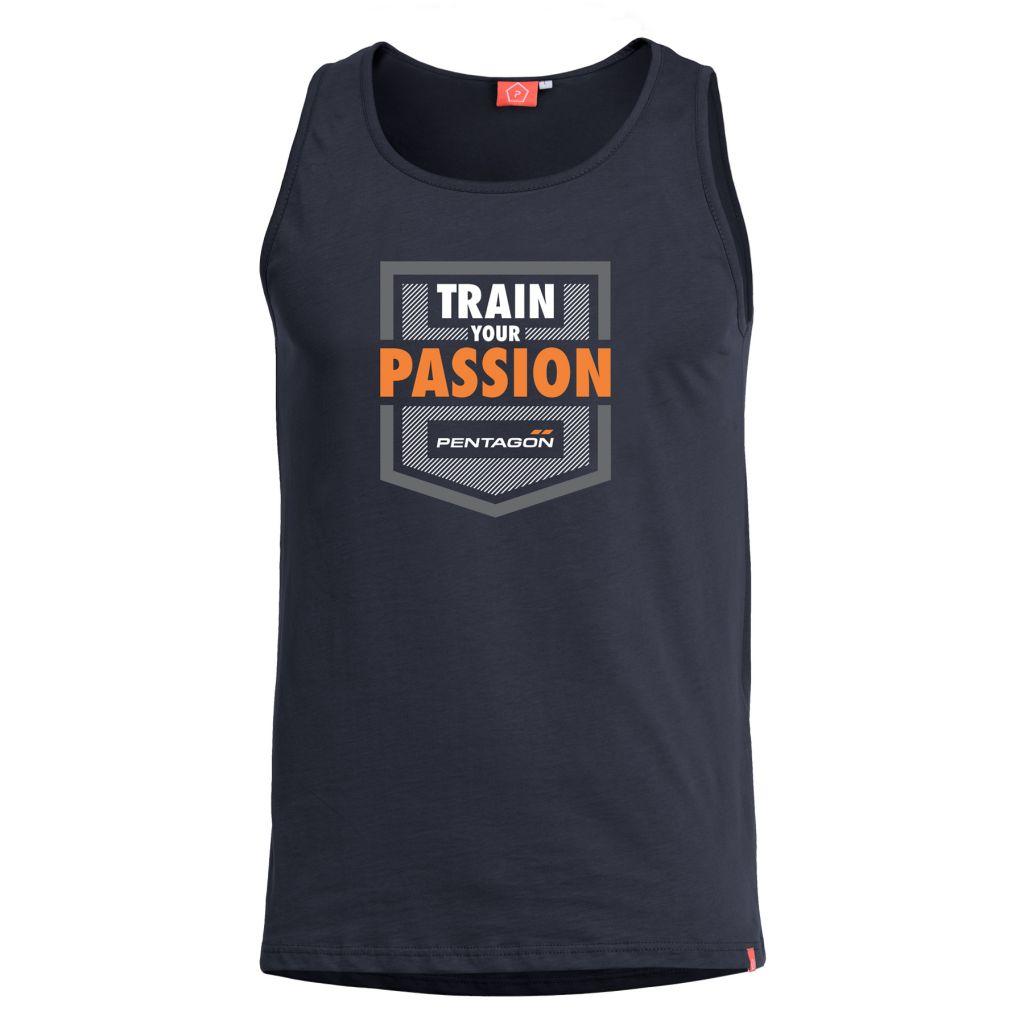 Tílko Pentagon Train Your Passion - černé, 3XL