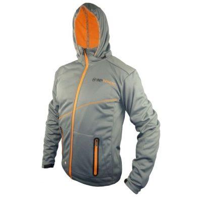 Bunda pánská Haven Thermotec - šedá-oranžová, XL